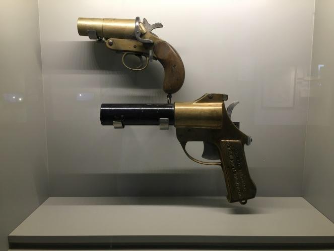 old flare guns