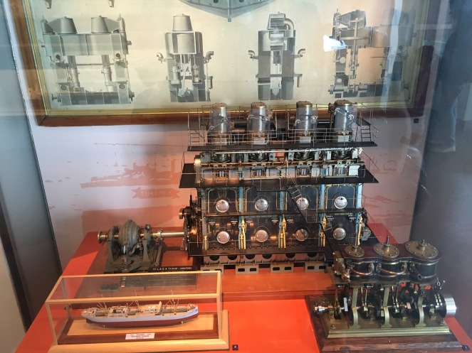 working model of a steam engine