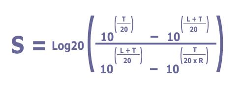 Sidebar S setpoint formula